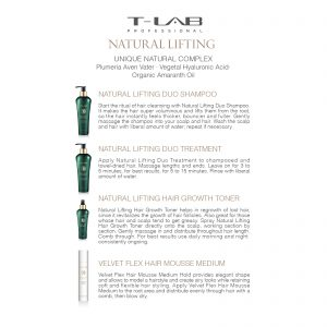 T-lab rinkinys Natural Lifting